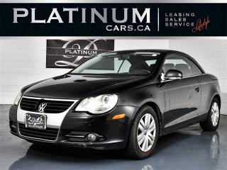 Used 2007 Volkswagen Eos 2.0T, Heated LEATHER, CONVERTIBLE, GAS Saver for sale in Toronto, ON
