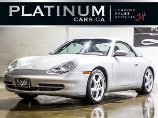 Used 2000 Porsche 911 Carrera 4, 6 SPEED, CONVERTIBLE, Leather for sale in Toronto, ON