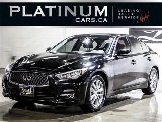 Used 2014 Infiniti Q50 Sport, AWD, NAVI, CAM, SUNROOF, Leather for sale in Toronto, ON