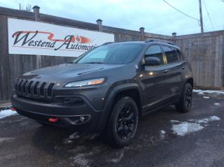 Used 2018 Jeep Cherokee Trailhawk Leather Plus   Only 10500 kms for sale in Stittsville, ON