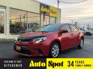 Used 2015 Toyota Corolla LE/ PRICED-QUICK SALE! for sale in Kitchener, ON