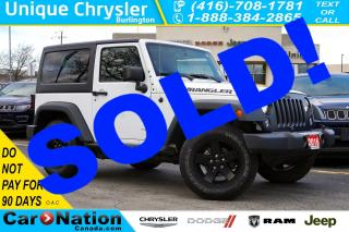 Used 2016 Jeep Wrangler SPORT| 6-SPD MT| NIGHT SKY PKG| DUAL TOP| for sale in Burlington, ON