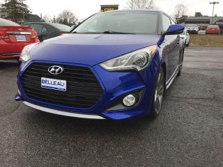 Used 2013 Hyundai Veloster Turbo*GPS-Toit PANO.! for sale in Québec, QC
