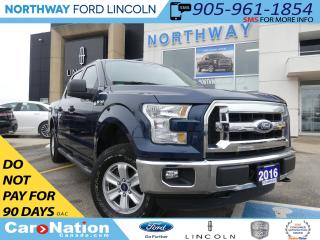 Used 2016 Ford F-150 XLT | CREW CAB | LOW KM | SPRAY BEDLINER | for sale in Brantford, ON