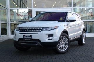 Used 2013 Land Rover Evoque Prestige *Navi*Pano Roof* for sale in Vancouver, BC