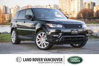 Used 2015 Land Rover Range Rover Sport V8 Supercharged Dynamic *Certified Pre-Owned! for sale in Vancouver, BC