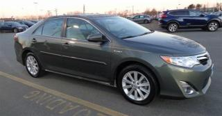 Used 2013 Toyota Camry HYBRID XLE for sale in Ottawa, ON