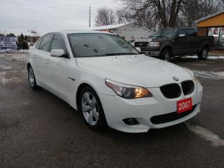 Used 2007 BMW 5 Series 525i M Sport for sale in Barrie, ON