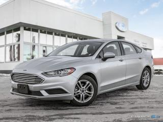 Used 2018 Ford Fusion 2.5L- MOONROOF for sale in Winnipeg, MB