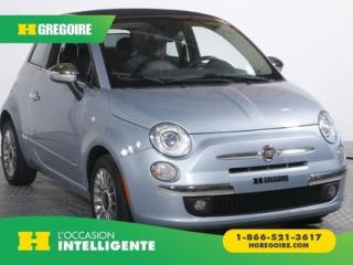 Used 2013 Fiat 500 Convertible Lounge for sale in St-Léonard, QC