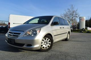 Used 2007 Honda Odyssey LX PL/PW/AC/AUTO/CLOTH for sale in Coquitlam, BC