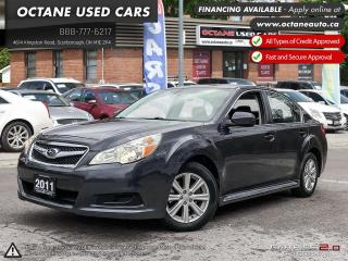 Used 2011 Subaru Legacy 2.5 i Convenience Package ACCIDENT FREE! AWD! for sale in Scarborough, ON