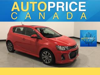 Used 2018 Chevrolet Sonic LT Auto MOONROOF|REAR CAM|KEYLESS GO for sale in Mississauga, ON