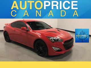 Used 2016 Hyundai Genesis Coupe 3.8 R-Spec MOONROOF|NAVIGATION|LEATHER for sale in Mississauga, ON
