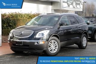 Used 2008 Buick Enclave CX Heated Seats & Sunroof for sale in Coquitlam, BC