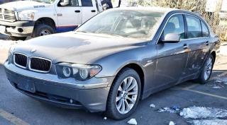 Used 2005 BMW 7 Series 4dr Sdn 745Li for sale in North York, ON