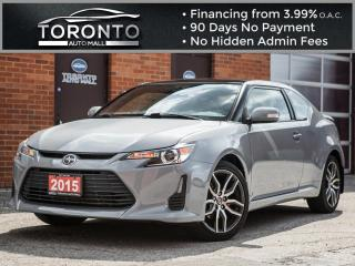 Used 2015 Scion tC Bluetooth Touch screen Panoramic roof Spoiler for sale in North York, ON