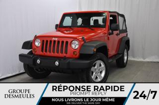 Used 2012 Jeep Wrangler 4X4 * Manuelle * AUX Connect. for sale in Laval, QC