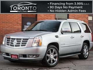 Used 2013 Cadillac Escalade Navi Camera DVD 8 Passenger Bose sound for sale in North York, ON