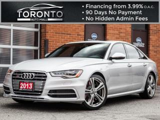 Used 2013 Audi S6 4.0T Diamond stitch 360 camera Navi Blind spot for sale in North York, ON