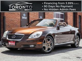 Used 2007 Lexus SC 430 Pebble beach edition Navi Mark levinson sound for sale in North York, ON