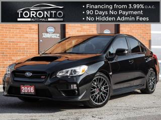 Used 2016 Subaru WRX 6 Speed Back up camera Clean car proof One owner for sale in North York, ON