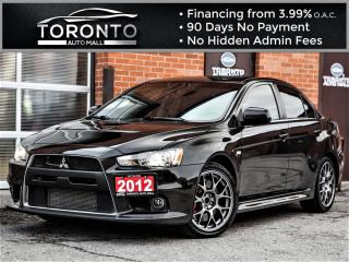 Used 2012 Mitsubishi Lancer Evolution 4dr Sdn MR for sale in North York, ON