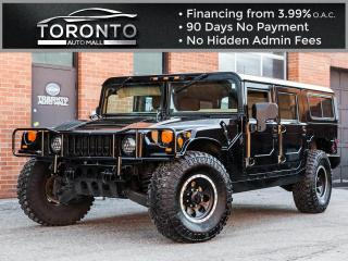 Used 1997 Hummer H1 Wagon Turbo diesel New Leather seats for sale in North York, ON