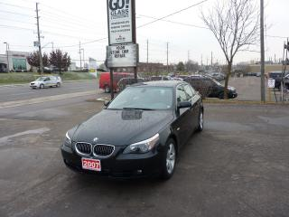 Used 2007 BMW 5 Series 525xi,All wheel drive,low mileage for sale in Kitchener, ON