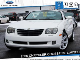 Used 2006 Chrysler Crossfire Ltd Cuir Sièges Ch for sale in Victoriaville, QC