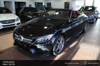 Used 2018 Mercedes-Benz C-Class C300 Awd Cabriolet for sale in Québec, QC