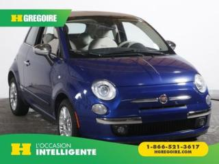 Used 2012 Fiat 500 Lounge A/c for sale in St-Léonard, QC