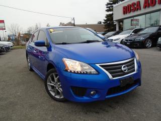 Used 2015 Nissan Sentra SR NAVIGATION,ALLOY RIMS,SUNROOF,BLUETOOTH,BACKUP for sale in Oakville, ON