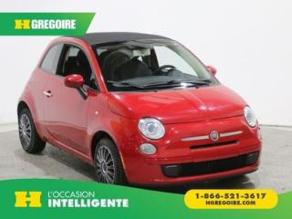 Used 2013 Fiat 500 POP CONVERTIBLE AC for sale in St-Léonard, QC
