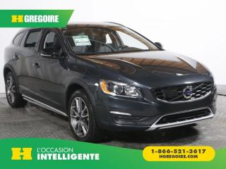 Used 2017 Volvo V60 T5 AWD A/C GR for sale in St-Léonard, QC