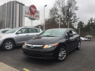 Used 2012 Honda Civic EX-L NAVIGATION for sale in Cambridge, ON