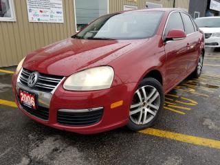 Used 2006 Volkswagen Jetta 2.5L-NO TAX SALE 1 WEEK-LEATHER-SUROOF for sale in Tilbury, ON