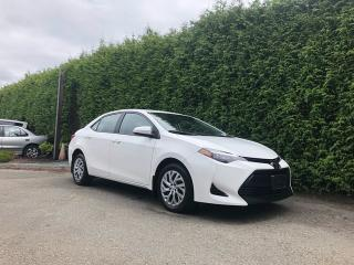 Used 2017 Toyota Corolla LE 4dr FWD Sedan for sale in Surrey, BC