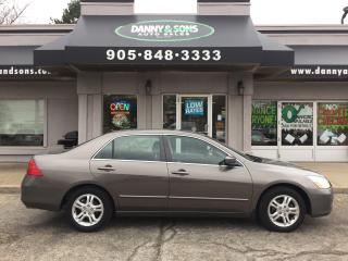 Used 2007 Honda Accord EX-L for sale in Mississauga, ON