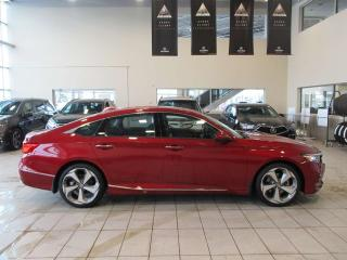 New 2019 Honda Accord Sedan Touring 2.0 Remote Start Navigation Moonroof for sale in Red Deer, AB