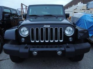 Used 2018 Jeep Wrangler Unlimited Sahara, NAVI, REMOTE START, ALLOYS for sale in Mississauga, ON