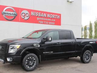Used 2019 Nissan Titan XD PRO-4X/CREW CAB/4X4/DIESEL! for sale in Edmonton, AB