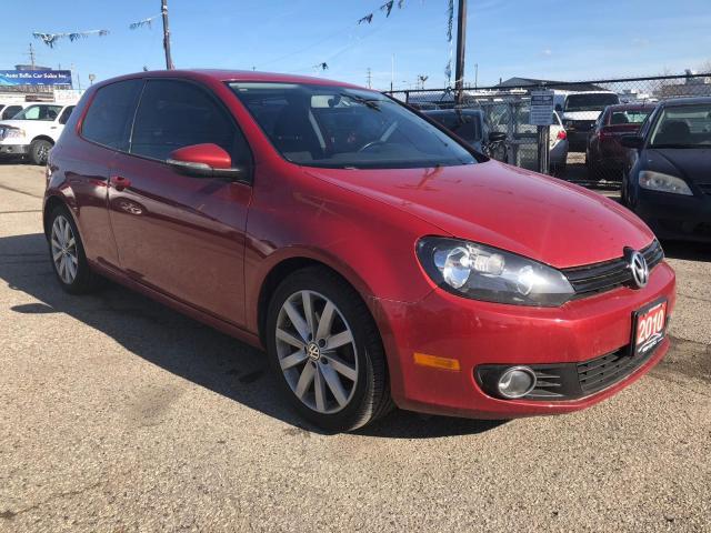 2010 Volkswagen Golf Sportline, New Tires, Certified, Warranty
