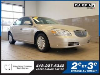 Used 2009 Buick Lucerne Cx / Démarreur / V6 for sale in St-Georges, QC