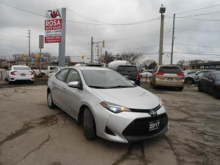 Used 2017 Toyota Corolla LE AUTO B-TOOTH B-CAM LANE DEPARTURE PW PL PM for sale in Oakville, ON