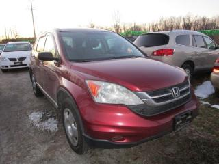 Used 2011 Honda CR-V LX for sale in Cookstown, ON