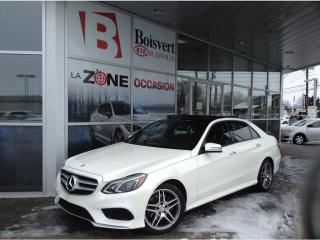 Used 2016 Mercedes-Benz E-Class AWD for sale in Blainville, QC