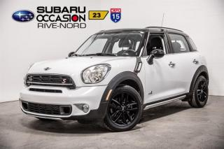 Used 2015 MINI Cooper Countryman S ALL4 for sale in Boisbriand, QC