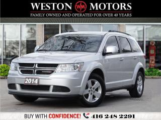 Used 2014 Dodge Journey SE*POWER GROUP*ACC FREE*BTOOTH*7 PASS*A MUST SEE!* for sale in Toronto, ON