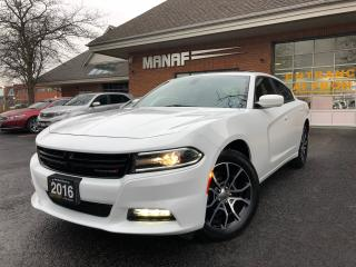 Used 2016 Dodge Charger SXT AWD Sunroof Navi  Heated Seats Certified* for sale in Concord, ON